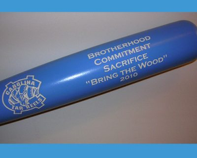 blue ribbon maple engraved bats