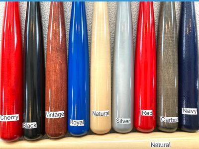 custom engraved maple bat color options