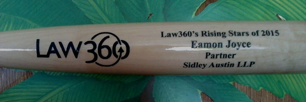 corporate custom bat engraving