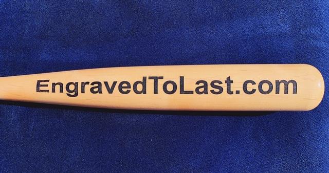 engraved to last custom engraved bats