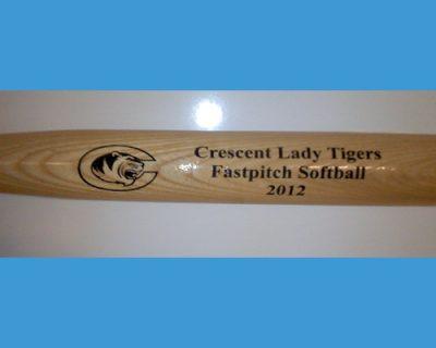custom engraved softball bats